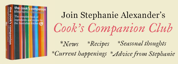 Join Stephanie Alexander's Cook's Companion Club