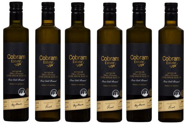 WIN Cobram Estate Reserve Extra Virgin Olive Oils