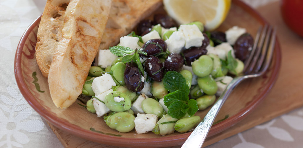 Broad bean recipes by Stephanie Alexander